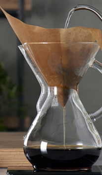 Chemex dripping - La fórmula matemática para hacer el mejor café